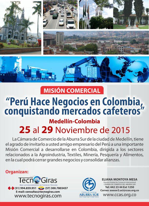 Misión Comercial – Perú Hace Negocios en Colombia