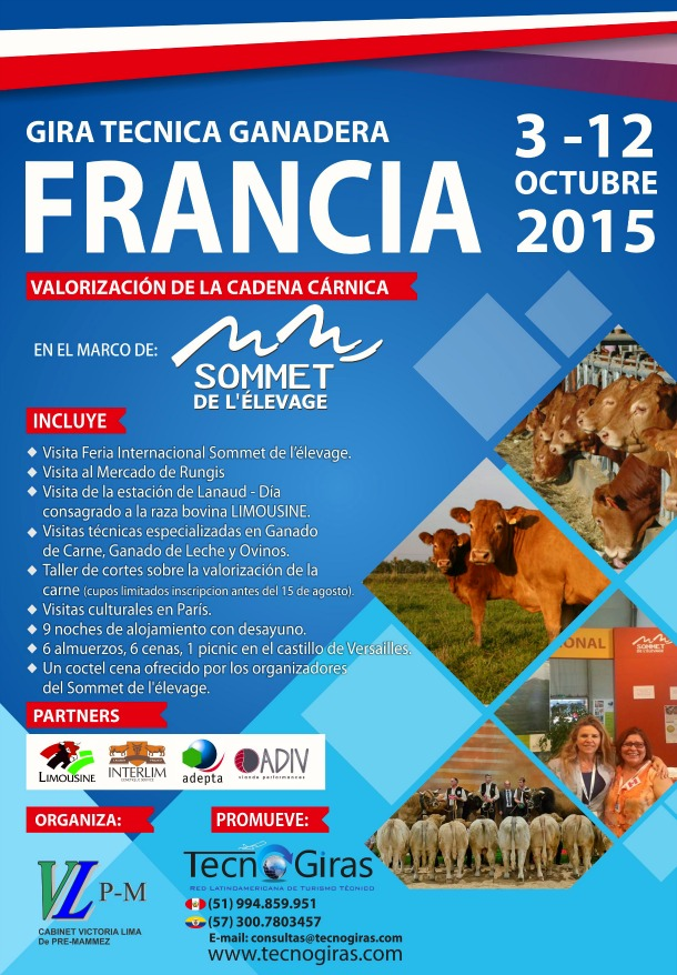 Gira Ganadera Francia 2015