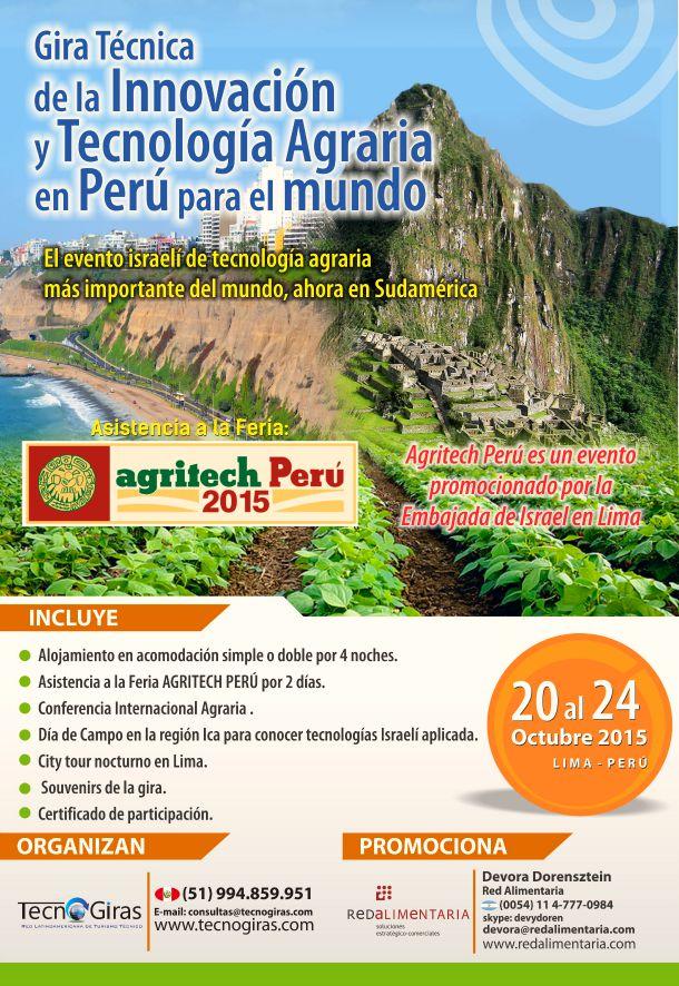Gira Técnica de la Innovación y Tecnología Agraria Perú