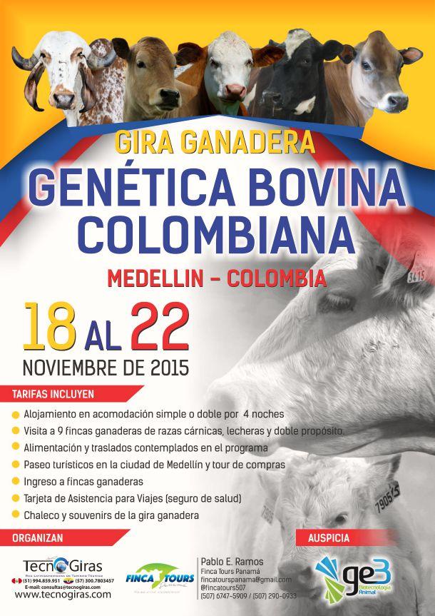 Gira Ganadera Genética Bovina Colombiana 2015