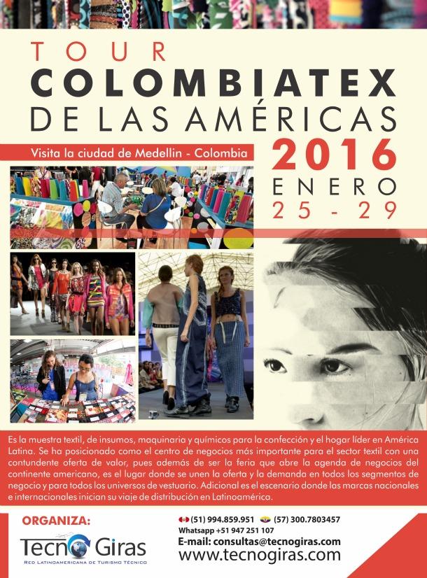 Tour Colombiatex de las Américas 2016
