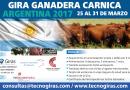 Gira Ganadera Cárnica Argentina 2017