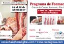 Curso de corte de carne Porcina y Bovina 2017