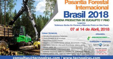Gira Técnica Forestal Brasil 2018