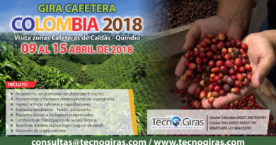 Gira Técnica Cafetera Colombia 2018