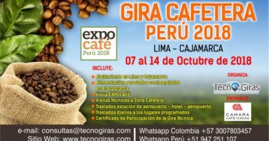 Gira Técnica Cafetera Perú2018
