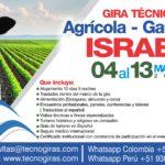 Gira Técnica Agrícola Ganadera Israel 2019