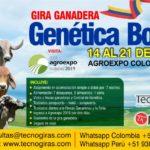 Gira Ganadera Genética Bovina Colombiana 2019
