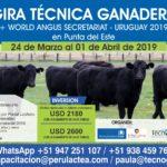 Gira Técnica Ganadera Congreso Mundial Angus Uruguay 2019