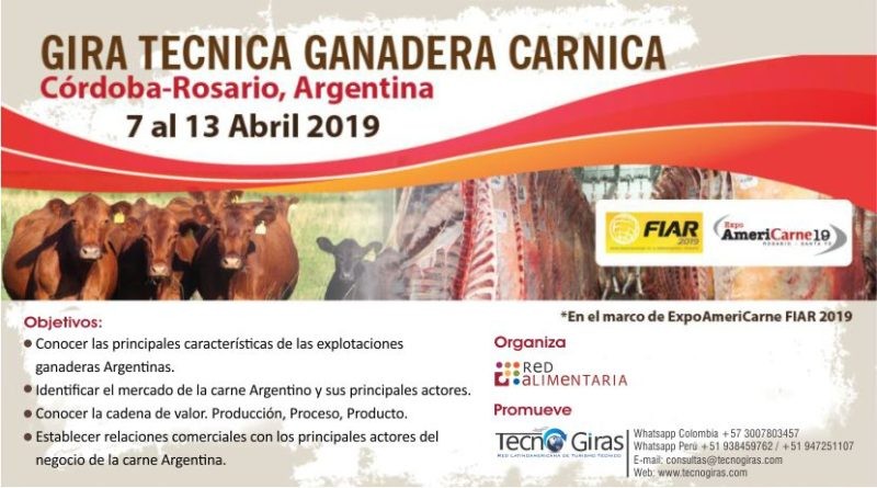Gira Ganadera Cárnica Argentina 2019